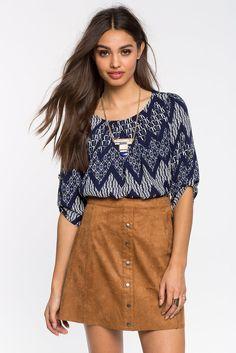 Блуза Размеры: S, M, L Цвет: синий с принтом Цена: 1285 руб.     #одежда #женщинам #блузы #коопт