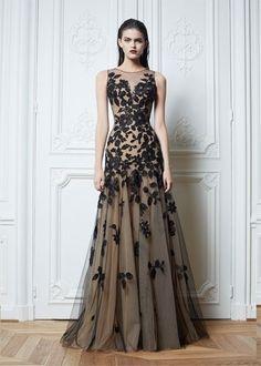 Bateau A Line Applique Floor-Length Net Black Lace Formal Evening Dresses Long Prom Dresses Gown
