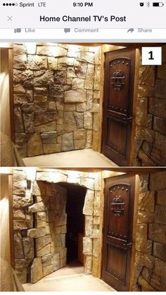 Secret doorway