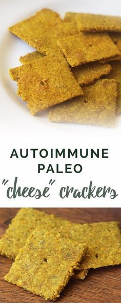 Autoimmune paleo crackers recipe | Empowered Sustenance