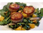 Medifast Scalllops With Spinach recipe - click on the image above to view the ingredients and directions