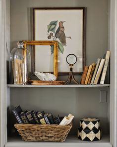 Sherry Hart--bookcase styling @sherry711