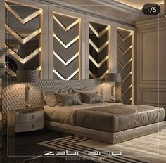 112 clever ideas how to craft modern style bedroom 40 Modern Luxury Bedroom, Luxury Bedroom Design, Master Bedroom Interior, Modern Master Bedroom, Bedroom Furniture Design, Master Bedroom Design, Luxury Home Decor, Luxurious Bedrooms, Home Decor Bedroom