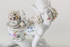 300-year-old porcelain manufacturer Meissen teamed up with artist Chris Antemann on a series of sculptures and decorative art objects.