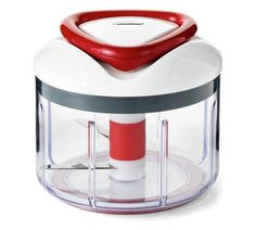 ZYLISS Easy Pull Food Chopper and Manual Food Processor - Vegetable Slicer and Dicer - Hand Held. Multi-blade designed food chopper blends ingredients in seconds. Booster arms on the top and bottom of the bowl keep food from sticking. Vegetable Chopper, Vegetable Slicer, Tips And Tricks, Kitchen Tools, Kitchen Gadgets, Kitchen Products, Kitchen Dining, Kitchen Ideas, Kitchen Stuff