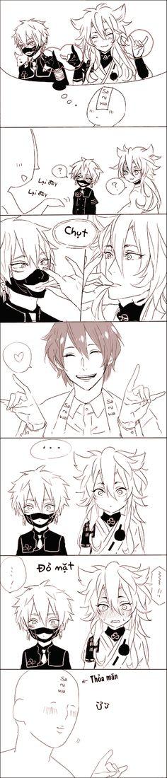 Saniwa cũng muốn làm Cáo