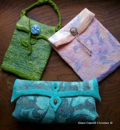 Felt Inspiration: Silk Marbling with Laura Sims