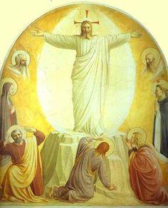 """""""La Transfiguration"""", Fra Angelico, 1441, cellule n°6 du couvent San Marco, Florence  DEUXIEME DIMANCHE DE CAREME """"Celui-ci est mon Fils, celui que j'ai choisi, écoutez-le ."""" (Luc 9, 35) Samedi 20 Février : Saint Genest : messe à 18h Dimanche 21 Février..."""