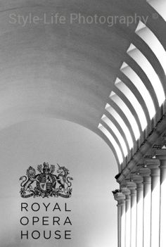 Soft lights and smooth curves, Covent Garden, London, UK Again my attention was drawn into the soft lighting and beautiful curvature as well as the historic coat of arms outside the Royal Opera House