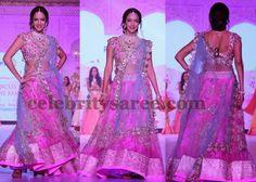 Lakshmi Manchu in Pink Lehenga | Saree Blouse Patterns