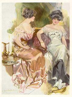Howard Chandler Christy, 1910