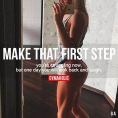 Gymaholic motivation to help you achieve your health and fitness goals. Try our free Gymaholic Fitness Workouts App. Fitness Workouts, Sport Fitness, Fitness Goals, Fitness Tips, Workout Tips, Step Workout, Woman Workout, Yoga Workouts, Fitness Wear