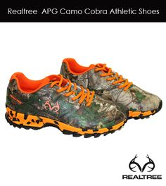 Realtree APG camo COBRA Tennis Shoes #realtreeoutfitters #camoshoes