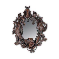Oklahoma Casting Horse Head Wall Mirror $362 at Foundary