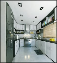This home just oozes the true reflections of richness and quality & is just the perfect resting place for you. Kitchen Cabinets, House Design, Contemporary, Home Decor, Construction, Houses, Interiors, Ideas, Kitchen
