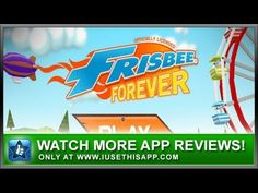 Frisbee Forever iPhone App Review - Games - iPhone Games - Best iPhone Apps #android #iphone #iusethisapp
