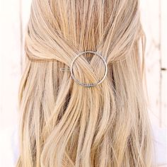 These Geometric Hair Clips are so cute and make you hair look so stylish while still being simple and classy. They are so easy to use and are available in 4 different styles. Each style also comes in Gold or Silver.