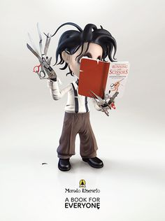Mundo Literario: Print campaign on Character Design Served