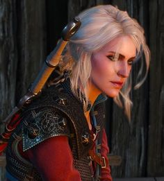 The witcher ciri Witcher 3 Wild Hunt, The Witcher 3, Ciri Witcher, Gal Pal, Red Eyes, Game Character, Wonder Woman, Cosplay, Conan