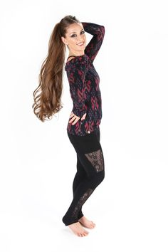 Check out the deal on NEW! Bamboo MotoX Pocket Leggings at Melodia Designs