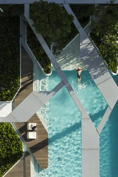 The Pool at Pynelocated right in the middle of urban district of Bangkok via Escape Kit