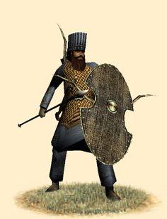 Persian Soldier for Ancient Man Project Ancient Persian, Ancient Art, Ancient History, Persian Warrior, Sassanid, Empire Romain, Achaemenid, Ancient Near East, Warrior Spirit