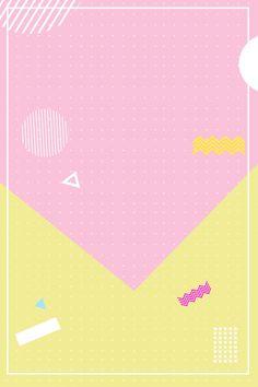 Kids Background, Background Design Vector, Geometric Background, Yellow Background, Event Poster Design, Graphic Design Posters, Tumblr Backgrounds, Colorful Backgrounds, Wall Logo