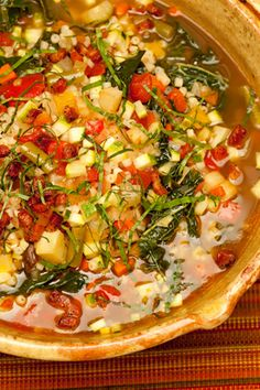 Curtis Stone's Winter Vegetable Minestrone