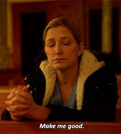 Nurse Jackie - I think this is very indicative of the ending in the series finale.