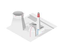 "Check out new work on my @Behance portfolio: ""Vector isometric illustration of a nuclear power plant"" http://be.net/gallery/45078695/Vector-isometric-illustration-of-a-nuclear-power-plant"
