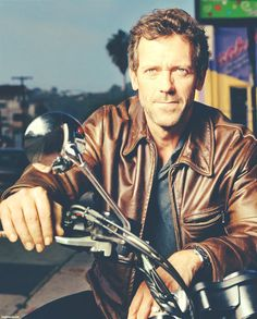 Hugh Laurie on a motorcycle. Your argument didn't even exist