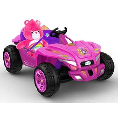 NEW! Dynacraft Care Bear Dune Buggy 12 Volt Powered Ride On
