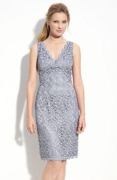 Lace Sheath Dress - Lyst