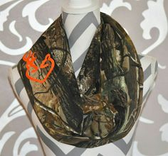 Realtree AP Camo Scarf Camo Infinity Scarf Browning Deer Elk Hunting Ladies Camo Clothing