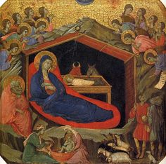 Image result for nativity with the prophets isaiah and ezekiel