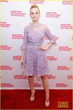 Elle Fanning Is Elie Saab Elegant at '20th Century Woman' Screening