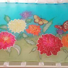#dalia,#selyemkep,#Christina Herner#silkdesign Painting, Art, Art Background, Painting Art, Kunst, Paintings, Performing Arts, Painted Canvas, Drawings