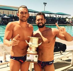 They are more dad than your typical Olympic sports. | The USA Men's Olympic Water Polo Team Is Going To Leave You Wet