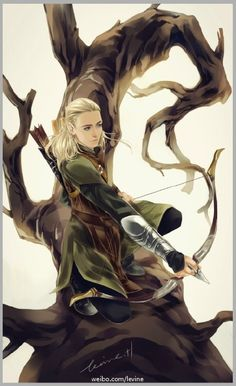 Legolas......I'm his #1 fan! Go Greenleaf!!!