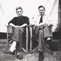 Wittgensein and GH Von Wright, 1950