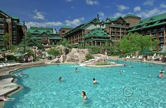 The Wilderness Lodge - Disney World Orlando...AWESOME !!!!!!!!