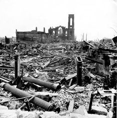 photographs of the great chicago fire - Google Search