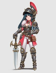 Character Design Girl, Character Design References, Character Design Inspiration, Character Concept, Character Art, Armor Concept, Game Concept Art, Illustration Girl, Character Illustration