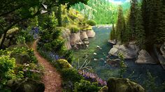 Enjoy a beautiful hidden object adventure in the fabulous Pinecreek Hills National Park in Vacation Adventures: Park Ranger 2! Click the pin to play. Game Background Art, Ranger, National Parks, Vacation, Adventure, Play, Outdoor, Beautiful, Outdoors