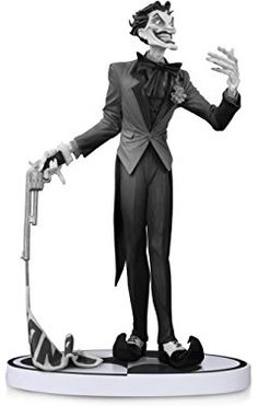 DC Collectibles Batman: Black and White: The Joker by Jim Lee Second Edition Statue