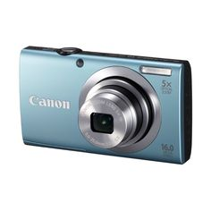 The Canon PowerShot A2400 IS is an innovative camera that brings super-fast shooting to the palm of your hands in style. From the A series of cameras from the house of Canon, the PowerShot digital camera will be an ideal buy or gift for anyone who wants to take up photography as a hobby. $139
