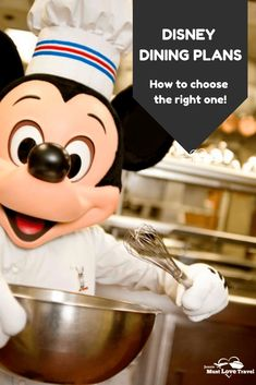Disney Dining Plans at Disney World - I break it all down for you! How to choose the right Dining Plan for your family. Disney World Hotels, Disney World Florida, Disney World Vacation, Disney World Resorts, Disney Vacations, Vacation Travel, Disney On A Budget, Disney Vacation Planning, Disney World Planning