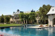 Tom Brady and Gisele Bundchen's L.A. Mansion.