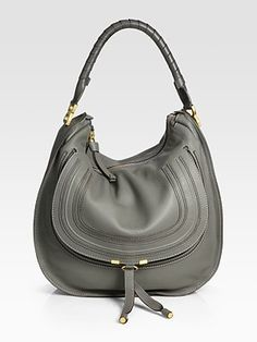 This is going on my birthday list: Chloé Large Marcie Hobo Bag