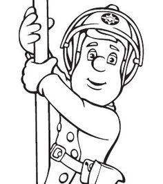 Fireman Sam Colouring | Cartoonito